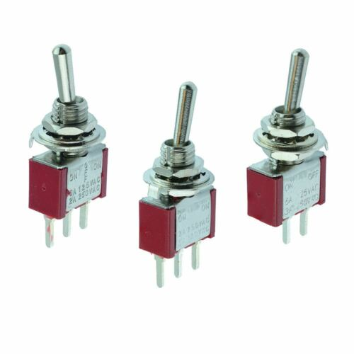 ON-OFF-ON ON-ON PCB Miniature Mini Interrupteur à bascule ON-OFF