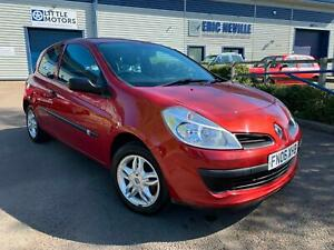 Renault Clio 1.2 16v Extreme 3dr 2006 Red - 10 Service Stamps - Only 71K Miles