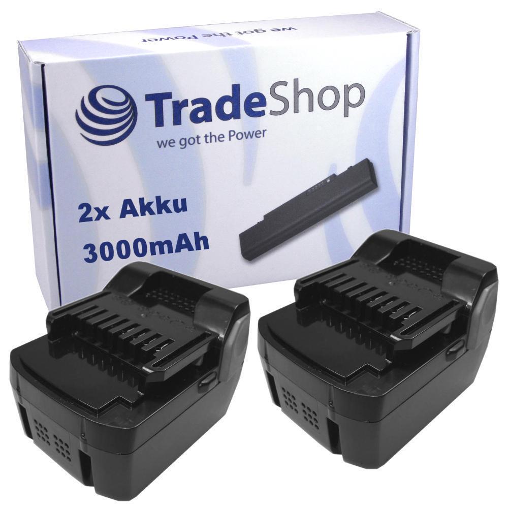 2x Akku 14,4V 3000mAh für Hitachi WH-14-DCL WH-14-DSL WR-14-DSL WR-14-DSL WR-14-DSL bf371d