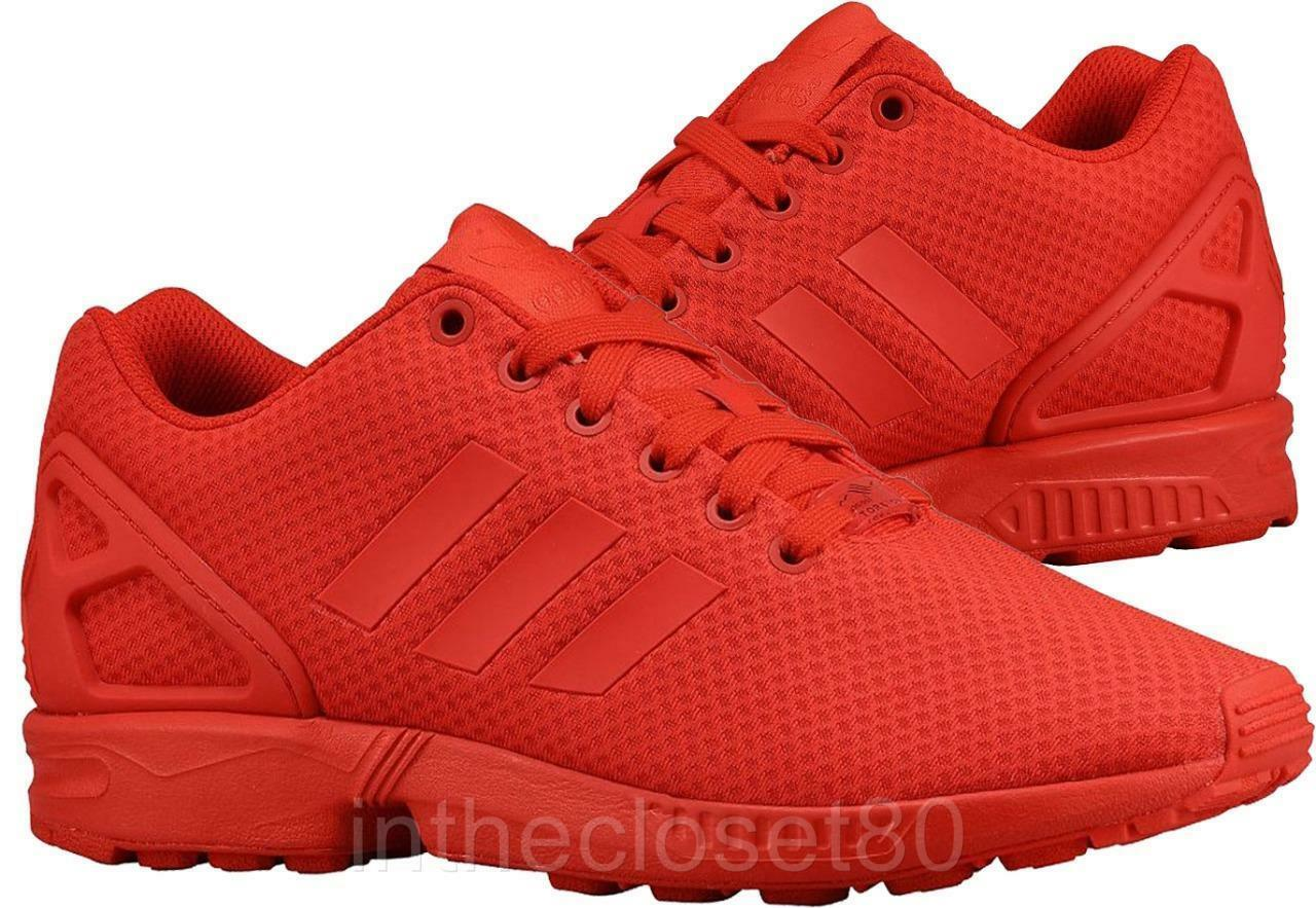 Adidas ZX Flux Triple ROT Scarlet All Torsion  Uomo Trainers All Scarlet ROT S78344 e63abd