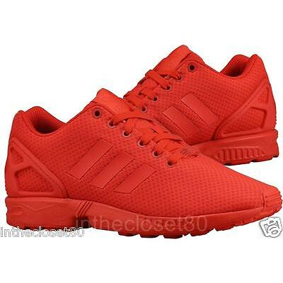 494a6a425 ... where can i buy adidas zx flux triple red scarlet torsion mens trainers  all red s78344