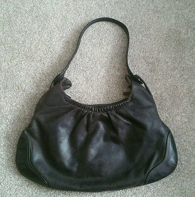 outlet in stock high fashion TK MAXX LEATHER BAG. Dark brown. | eBay