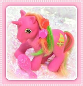 My-Little-Pony-MLP-G1-Vtg-Tropical-Ponies-Hula-Hula-Sail-away-Boat-Unicorn