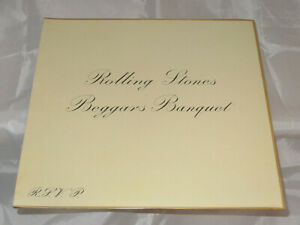 Rolling-Stones-Beggars-Banquet-Sealed-Vinyl-Record-LP-USA-1968-Orig-With-Names