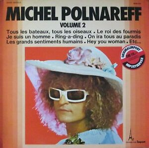 Michel-Polnareff-Volume-2-Impact-Records-Vinyl-LP-Schallplatte-France-1975