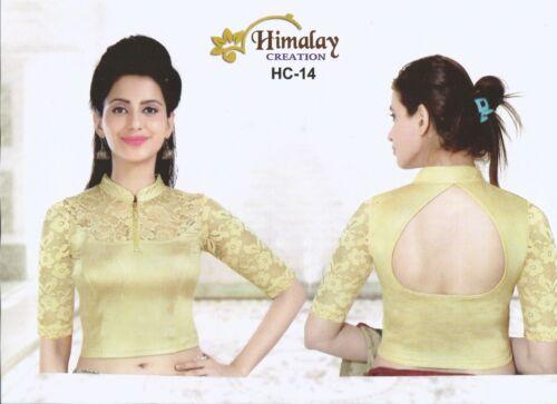 Asian £8.49 size L to XXXL western-Pakistani cotton  Lycra Indian BLOUSE