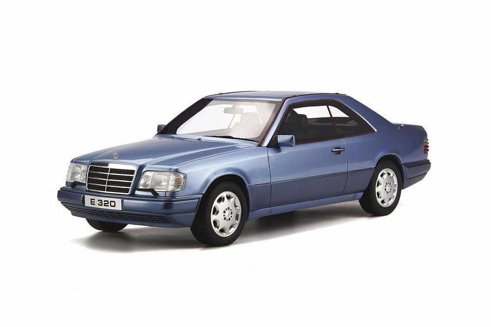 1 18 Otto ot682 Mercedes  Benz E Coupé 320e 320 c124 w124 Bleu  Nouvelle liste