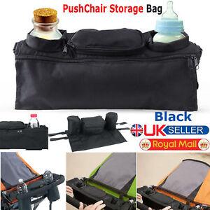Baby-Pushchair-Pram-Storage-Bag-Stroller-Buggy-Cup-Bottle-Food-Holder-Organiser