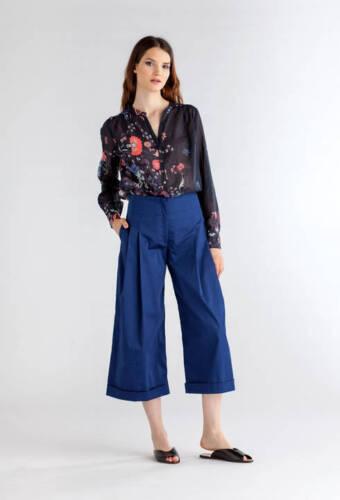 lunga antracite tunica 22 Camicia 40 scuro rosa blu Ivko taglia 44 46 2018 pSnznxwq