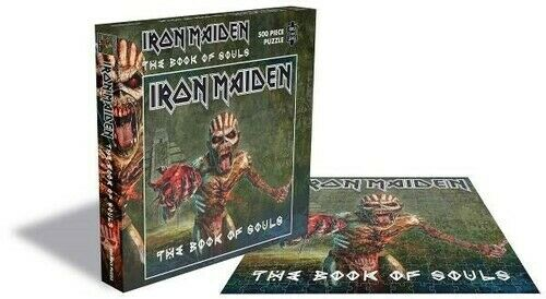 Iron Maiden - Iron Maiden The Book Of Souls (500 Piece Jigsaw Puzzle) [Used Very