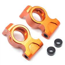 Yeah Racing HPI RS4 Sport 3 Orange Aluminum Rear Hub / Knuckle Set RSS3-005OR