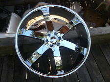 "30"" Inch CHROME U2 55 Rims Wheels 20 24 26 28"