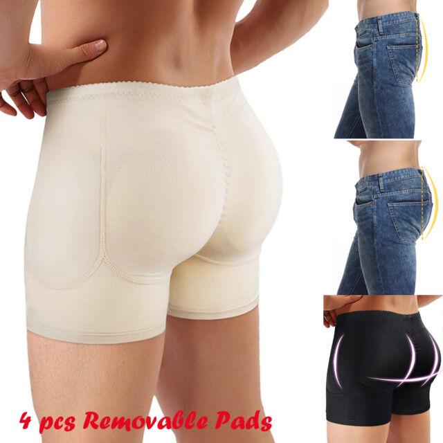 Leo Men's Padded Butt Enhancer Brief
