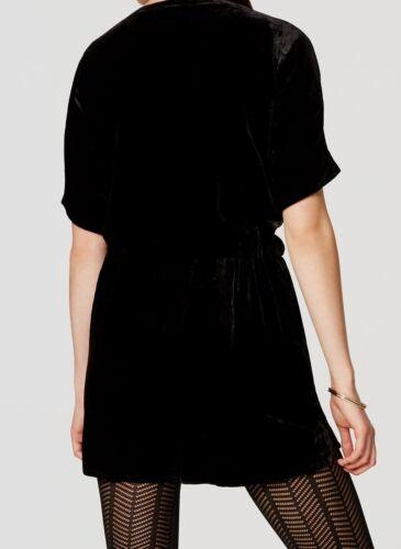 Ann Taylor LOFT Velvet Romper Various Sizes NWT Black Color