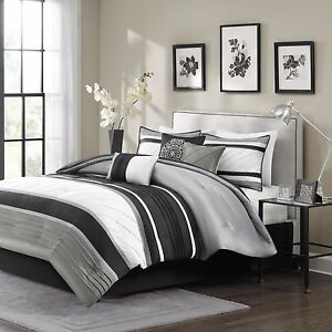 Madison Park Anderson 7 Piece Comforter Set Ebay