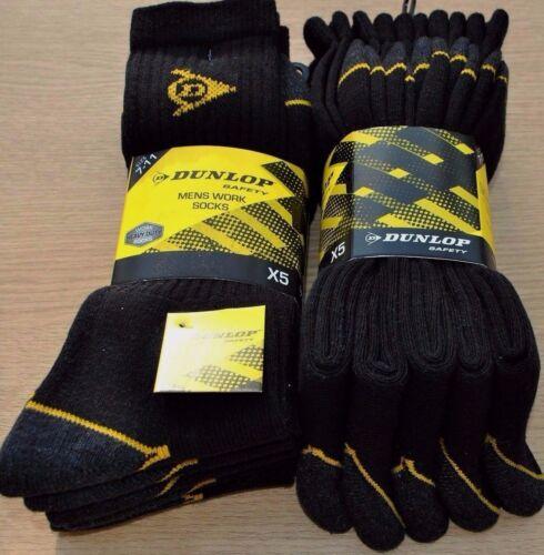 Da Uomo 5 paia di Dunlop Escursioni Lavoro Passeggio All/'aperto Calzini Taglia 11-14 Heavy Duty *