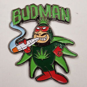 Pokemon Venusaur marijuana flower pot weed enamel lapel hat pin