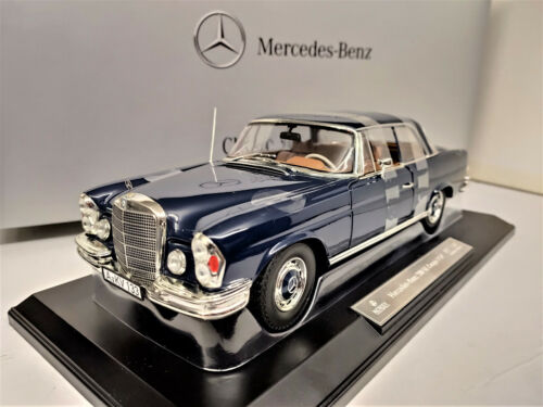 1:18 NOREV Mercedes 280SE Coupe dunkelblau darkblue Limited Ed.100 pieces NEW