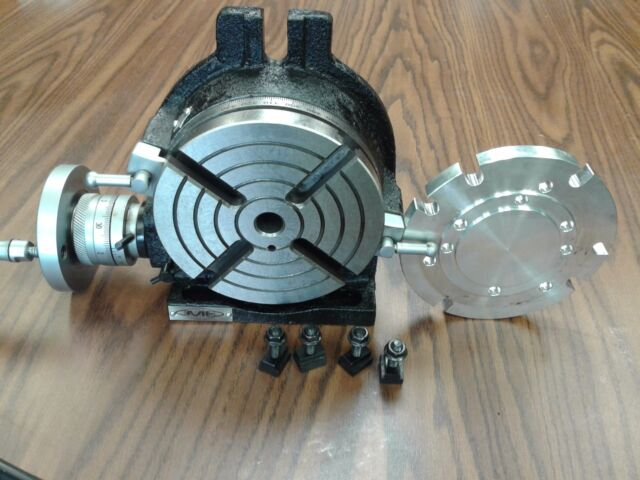 """6"""" HORIZONTAL & VERTICAL ROTARY TABLE w. centering base adapter #IN-TSL6-ADP-new"""