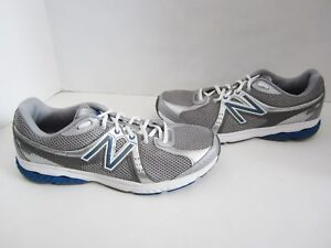 cb1abbe78d661 New Balance 665 Mens Silver Blue Walking Shoes 8.5 Worn Once CG | eBay