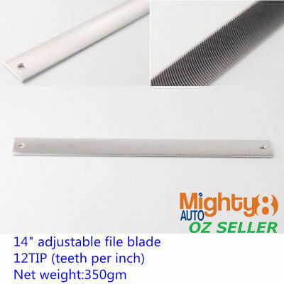 Pansar Hand Blade Convex Tooth 9tpi 350mm 14in - FILPHB914 Files