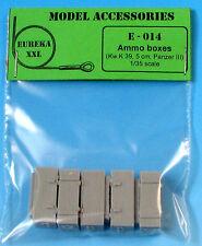 WOODEN AMMO Scatole per 5 cm kw.k.39, e-014, Eureka XXL