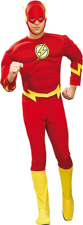 Aimable The Flash Muscle Costume Original Flash Costume Deluxe Pour Homme Nourrir Les Reins Soulager Le Rhumatisme