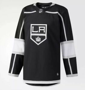 more photos 4a31e f64f8 Details about Adidas LA Kings 2017-18 Hockey Jersey Men's Size 50 Medium  Black White NEW $180