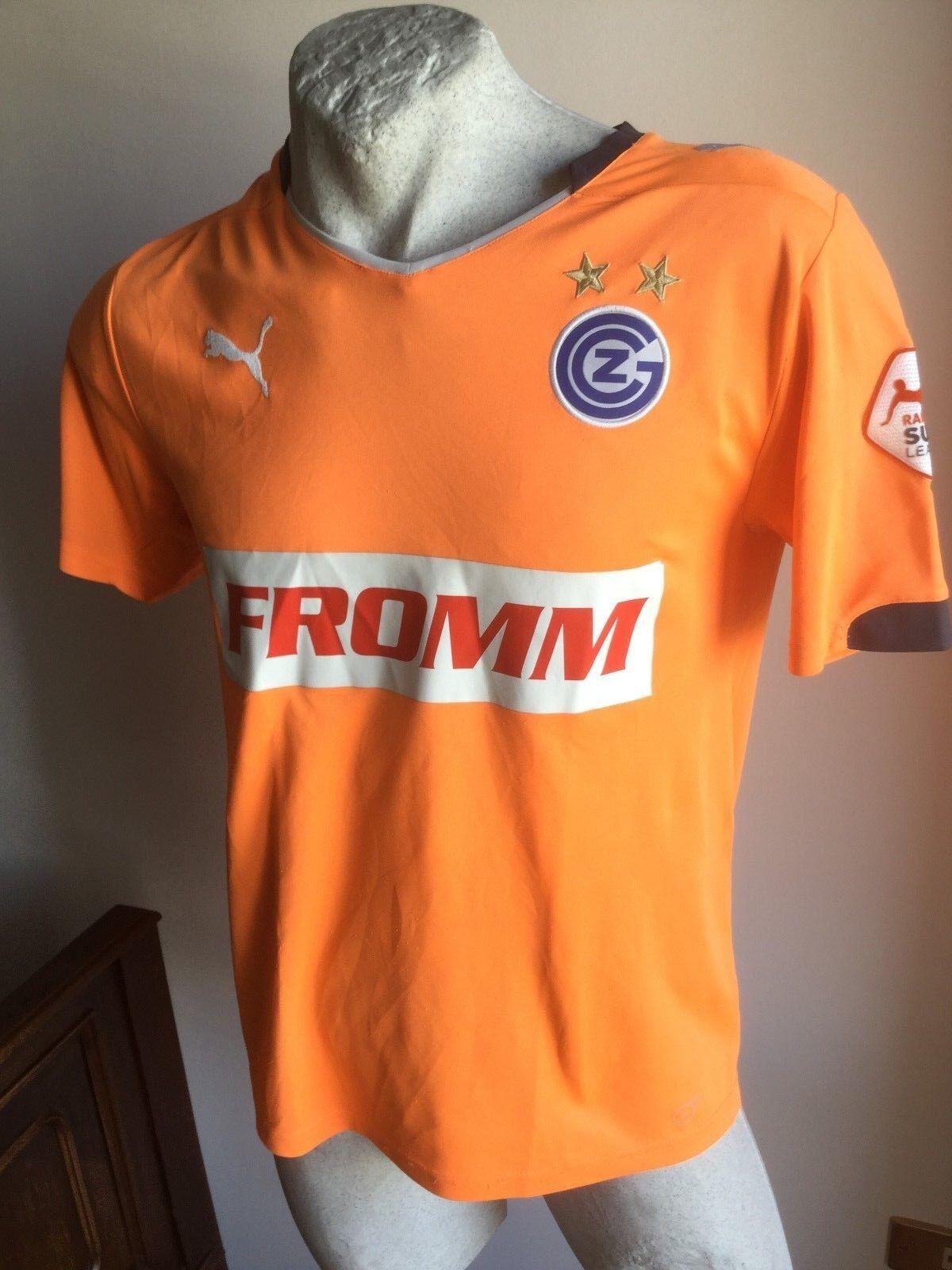 Maglia calcio Grasshoppers FROMM swiss MARC 1football shirt goalkeeper 2011