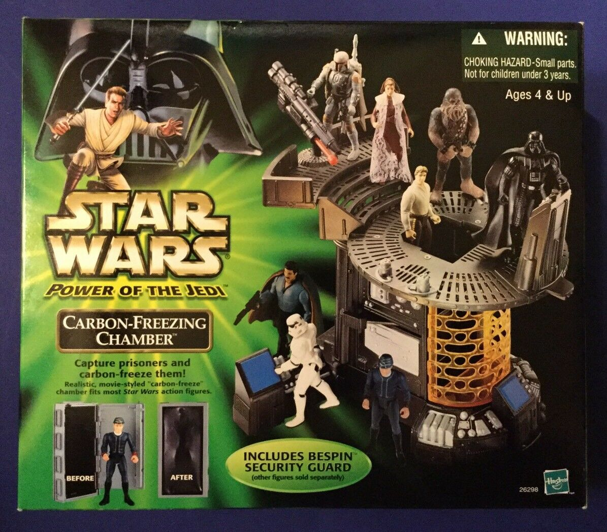 Hasbro  star - wars - macht der jedi 2001 - saal 26298 einfrieren