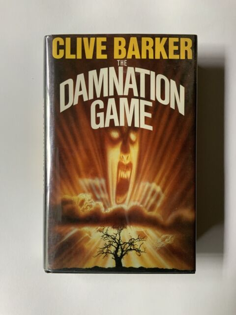 The damnation game Clive Barker 1st Edition 1985