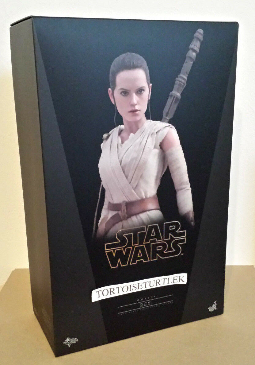 Hot Toys Movie Masterpiece Rey Star Wars The The The Force Awakens 1 6 Action Figure 2a3343