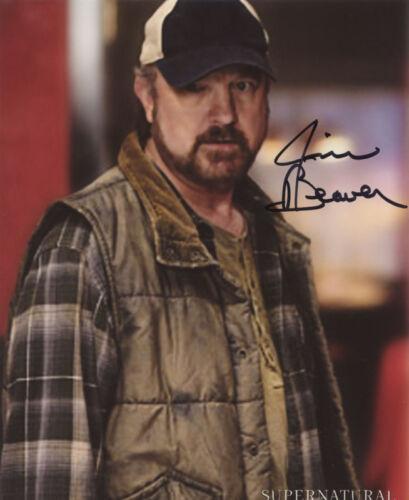 Autograph 2 CSI Autogramm Dexter Jim Beaver Supernatural