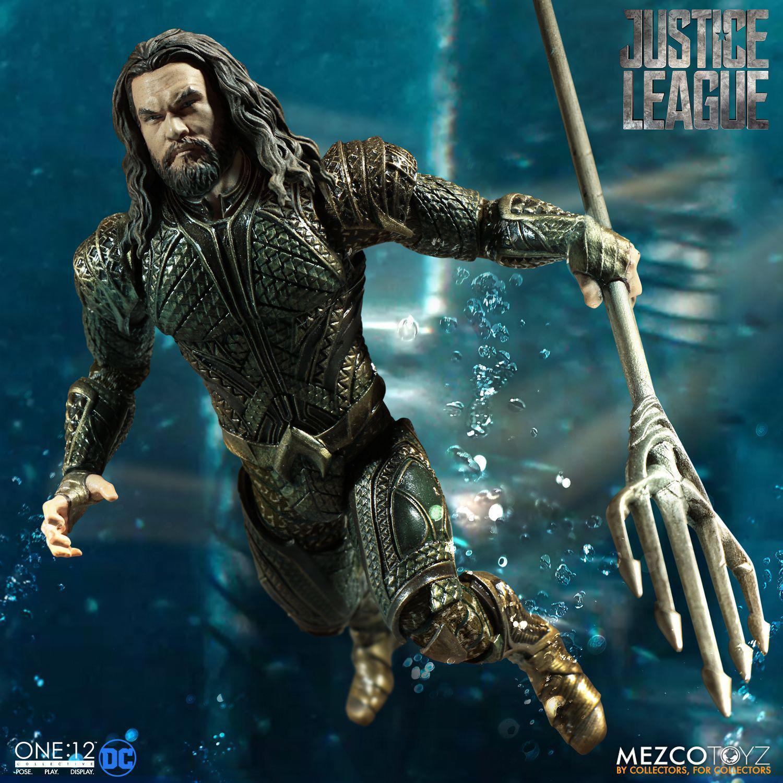 Justice League League League One 12 Actionfigur Aquaman - Sammler Figur & Zubehör 16cm NEU OVP 2a4800