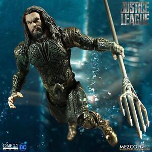 Justice-League-One-12-Actionfigur-Aquaman-Sammler-Figur-amp-Zubehoer-16cm-NEU-OVP