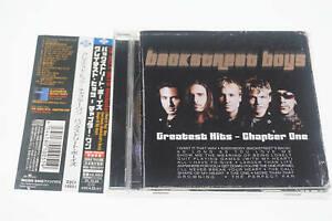 BACKSTREET-BOYS-GREATEST-HITS-CHAPTER-ONE-ZJCI-10051-CD-JAPAN-OBI-A12566