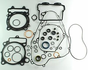 Engine-gasket-set-For-Kawasaki-KX-f-450-incl-oil-ring-Manufacturing-year-16