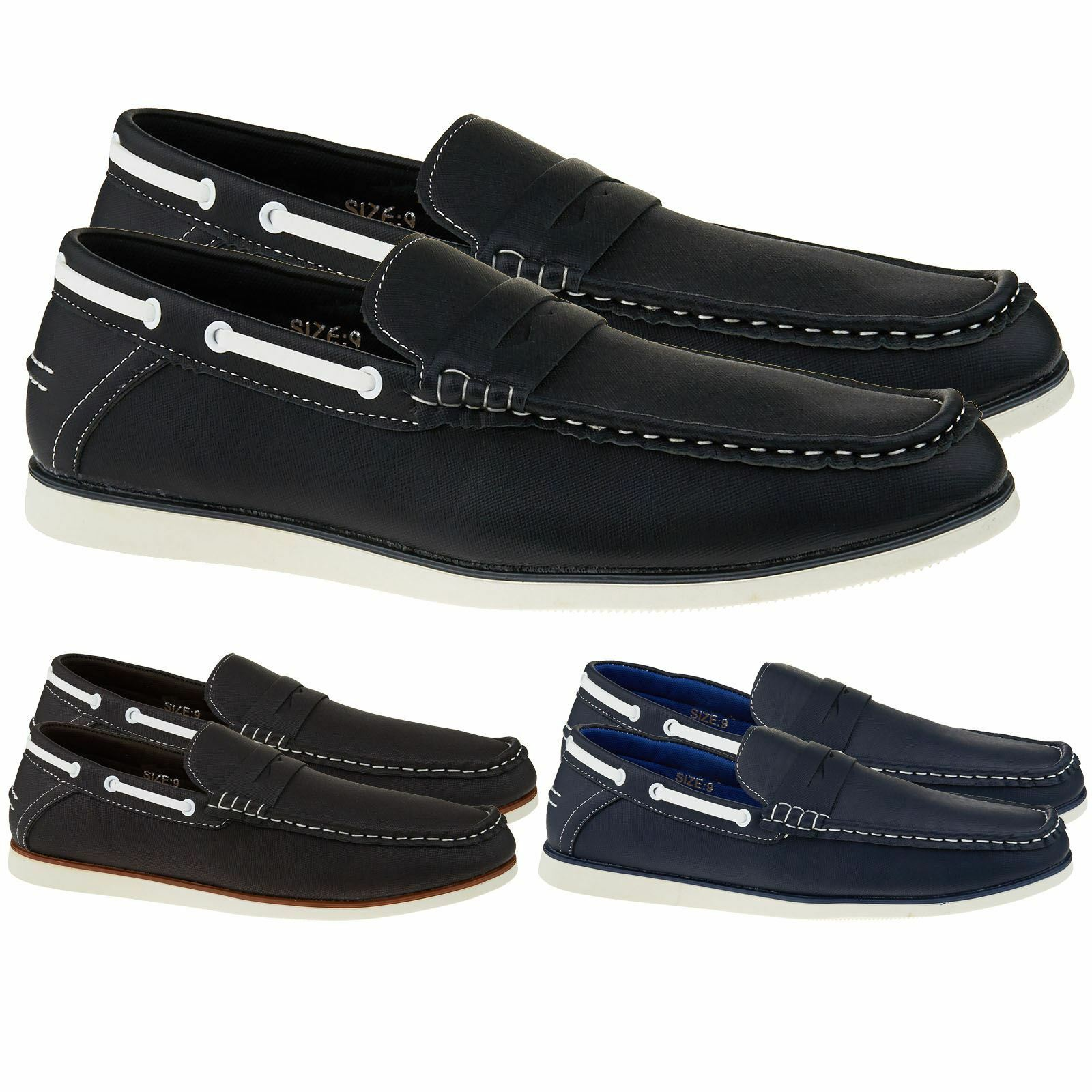 Mr/Ms On New Boys Mens Slip On Mr/Ms Casual Boat Deck Moccasin Designer Loafers Driving Shoes Good design Optimal price Fair price HB456 2431d8