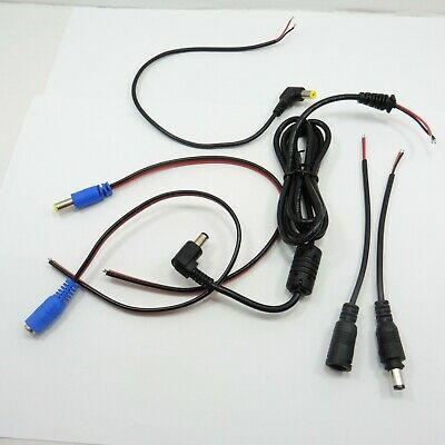 DC Plug Power Jack Fly Connector Wire Lead Socket Cable Camera CCTV | eBayeBay