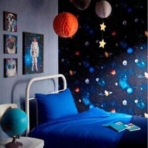 Image Is Loading Arthouse Childrens Cosmos Solar System Wallpaper Planets Stars