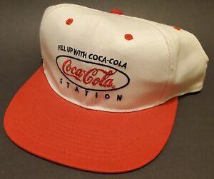 Vintage-Coca-Cola-Station-New-Ball-Cap-Adjustable-Back-w-Tag-RARE