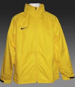 negocio Tranvía tramo  Nuevo Nike Storm Fit Lluvia Chaquetas Plegable Con Retráctil Capucha  Amarillo M | eBay
