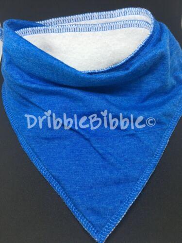 ❤ Baby Child Dribble Bib Catcher Dry Bandana Girl Boy Dog ❤ Royal Blue ❤