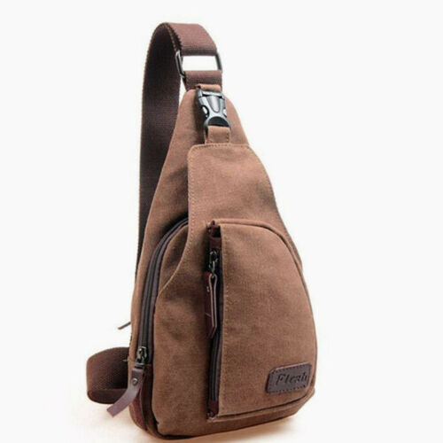 Men/'s Chest Sling Hiking Cross Body Small Bag Messenger Shoulder Backpack Travel
