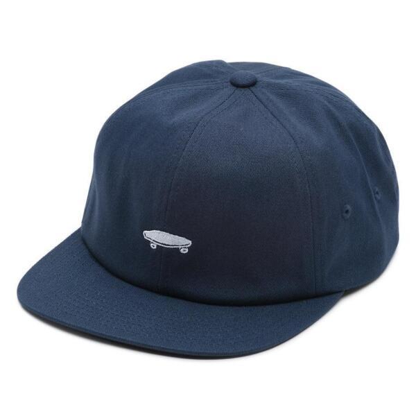 ce5995e8113 VANS Mens Salton II Strapback Hat Navy 1sz for sale online