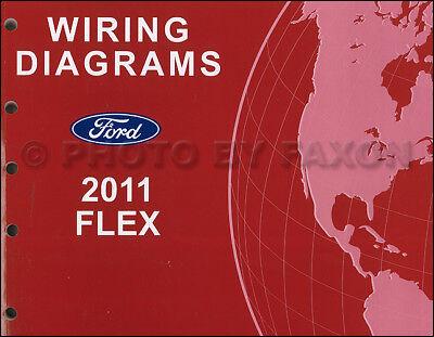 2011 Ford Flex Wiring Diagram Manual NEW Original Electrical Schematic Book  OEM | eBayeBay