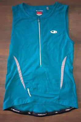 Icebreaker Merino Women S Gt Quantum Vest Sz M Blue Ebay