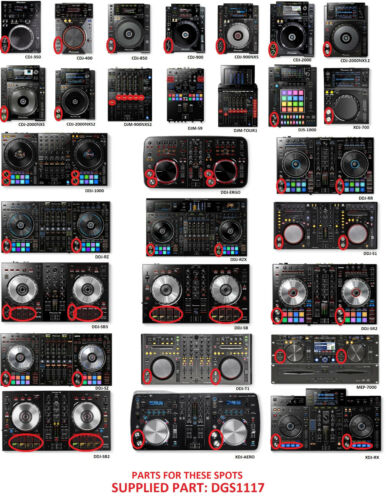 Tact Switch DSG1117 Pause /& Cue For Pioneer DJ Controller Mixer System Player