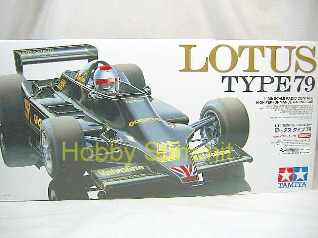 Tamiya 1/10 R/C  LOTUS  Type 79  F-1  Racing Car  Kit   F104W Chassis  84122