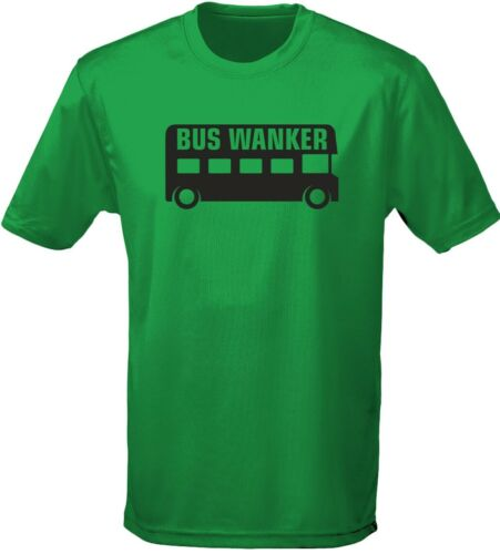 by swagwear S-3XL Bus W*nker Rude Explicit Mens T-Shirt 10 Colours